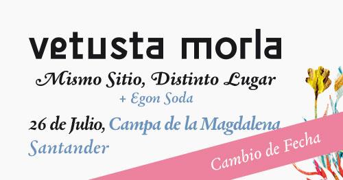 Vetusta Morla Santander