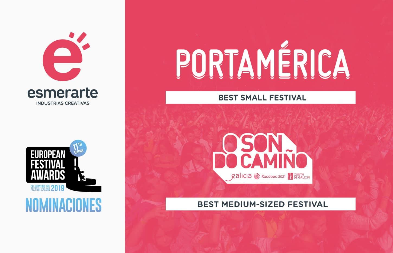 Esmerarte en los European Festival Awards
