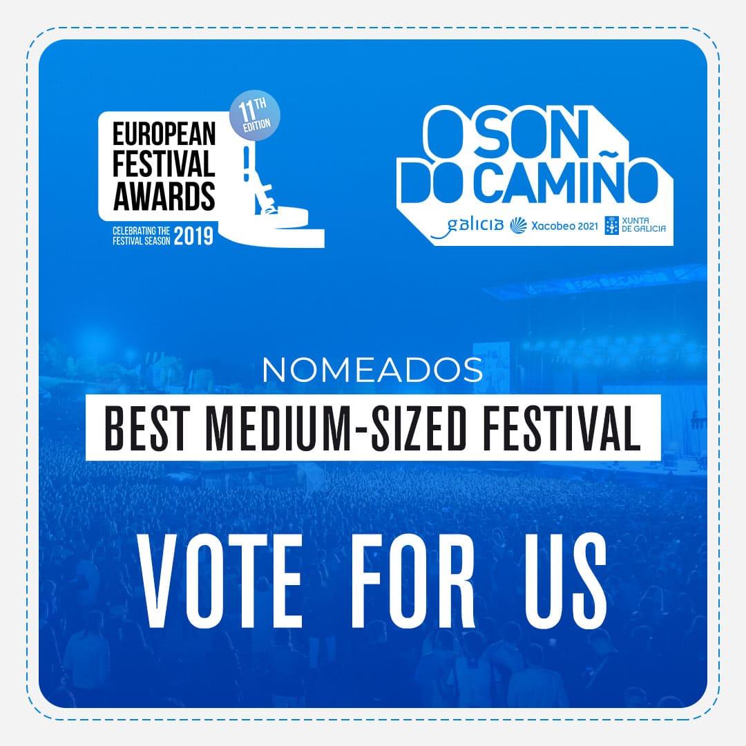 O Son do Camiño en los European Festival Awards