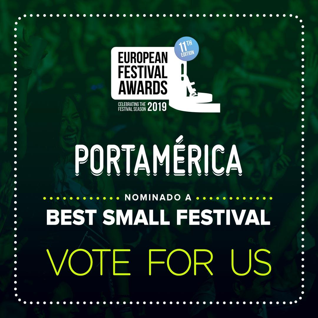 PortAmérica en los European Festival Awards