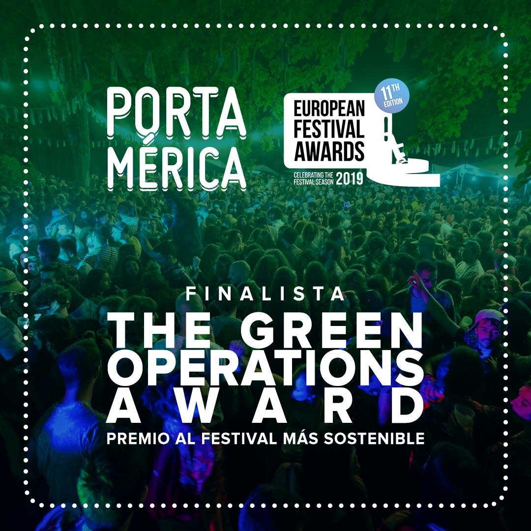 PortAmérica festival más sostenible