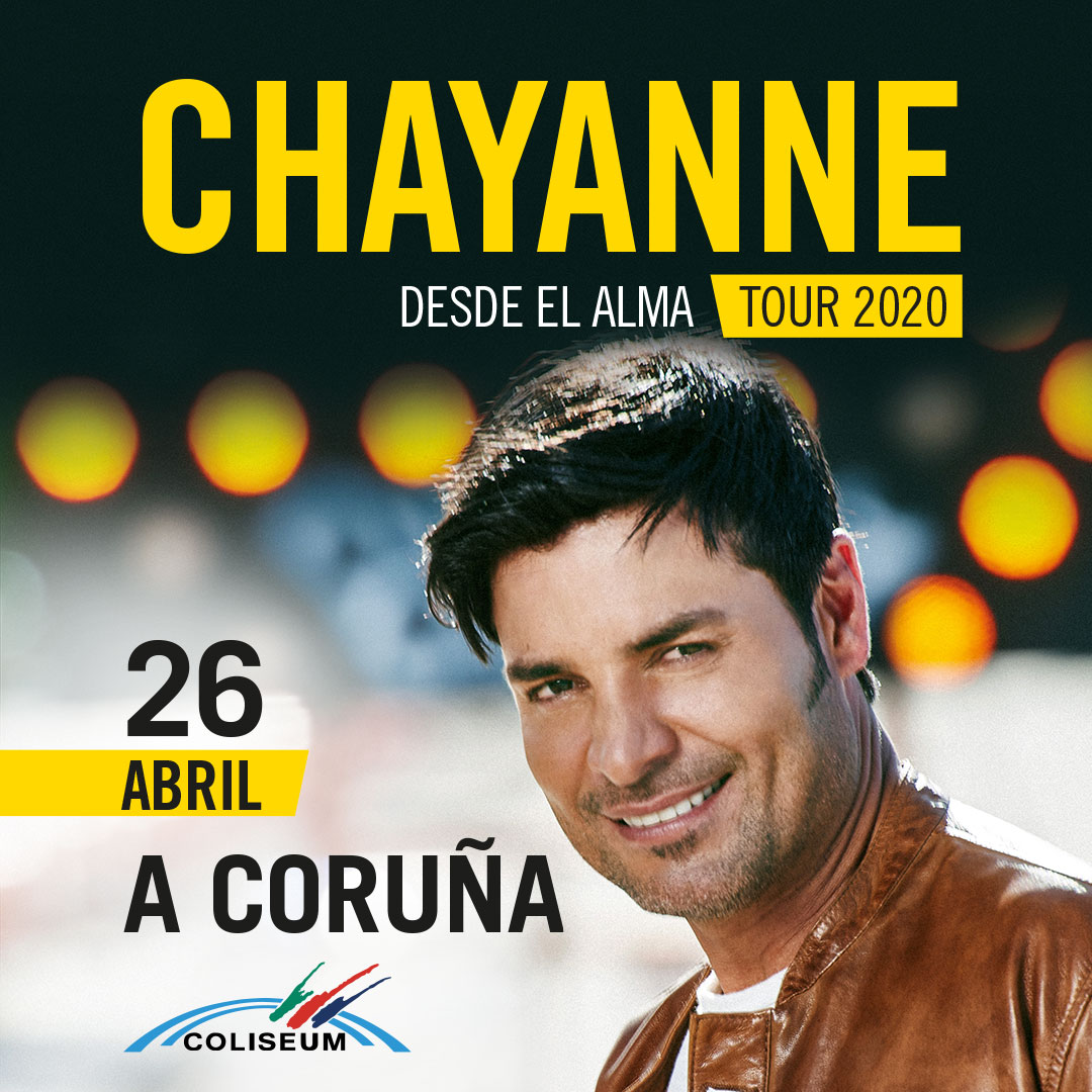 Chayanne Coliseum A Coruña