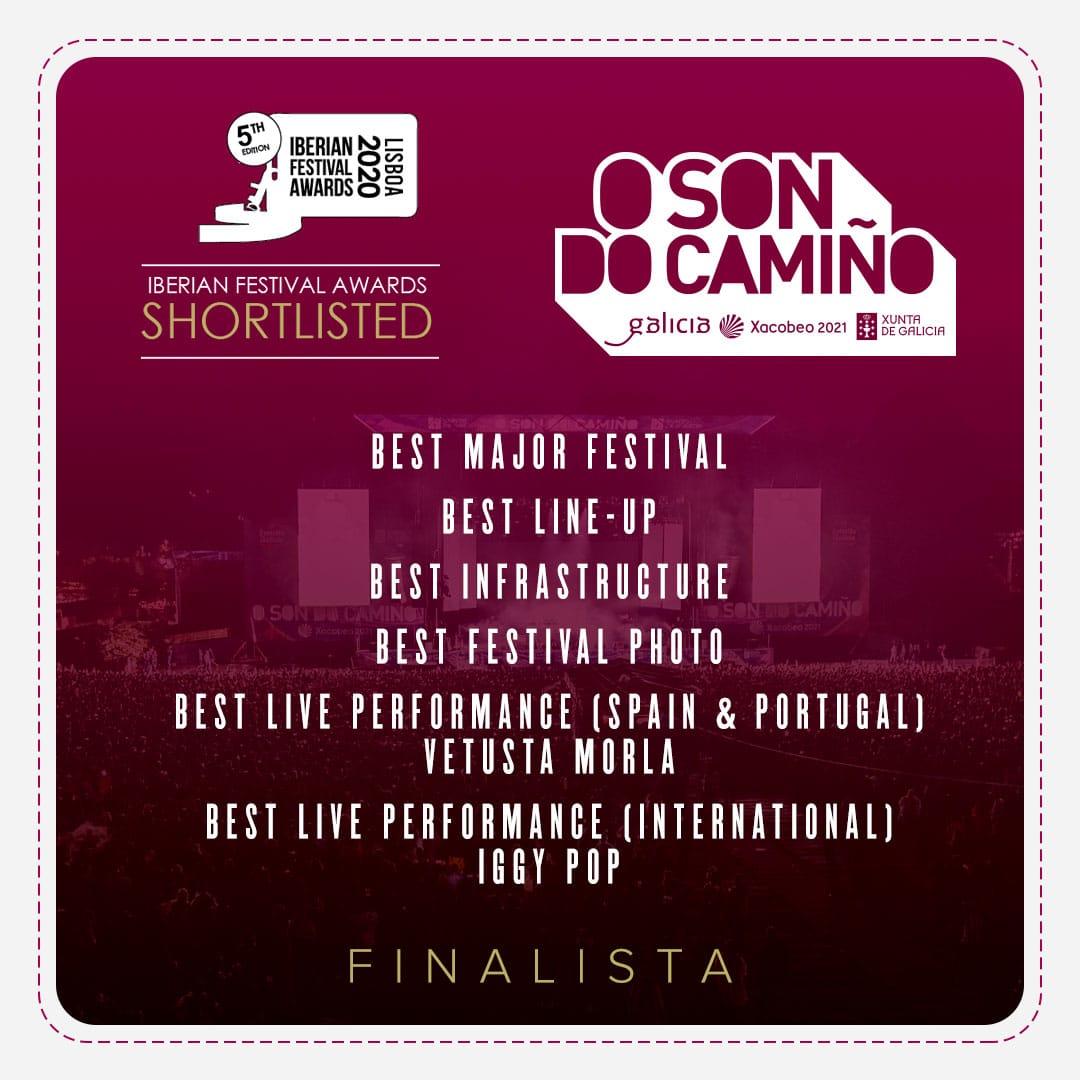 O Son do Camiño finalista Iberian Festival Awards