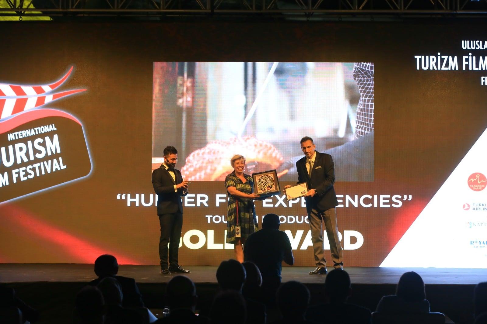 Premio de Oro al Mejor Producto Turístico en el Uluslararası Turizm Filmleri Festivali 5