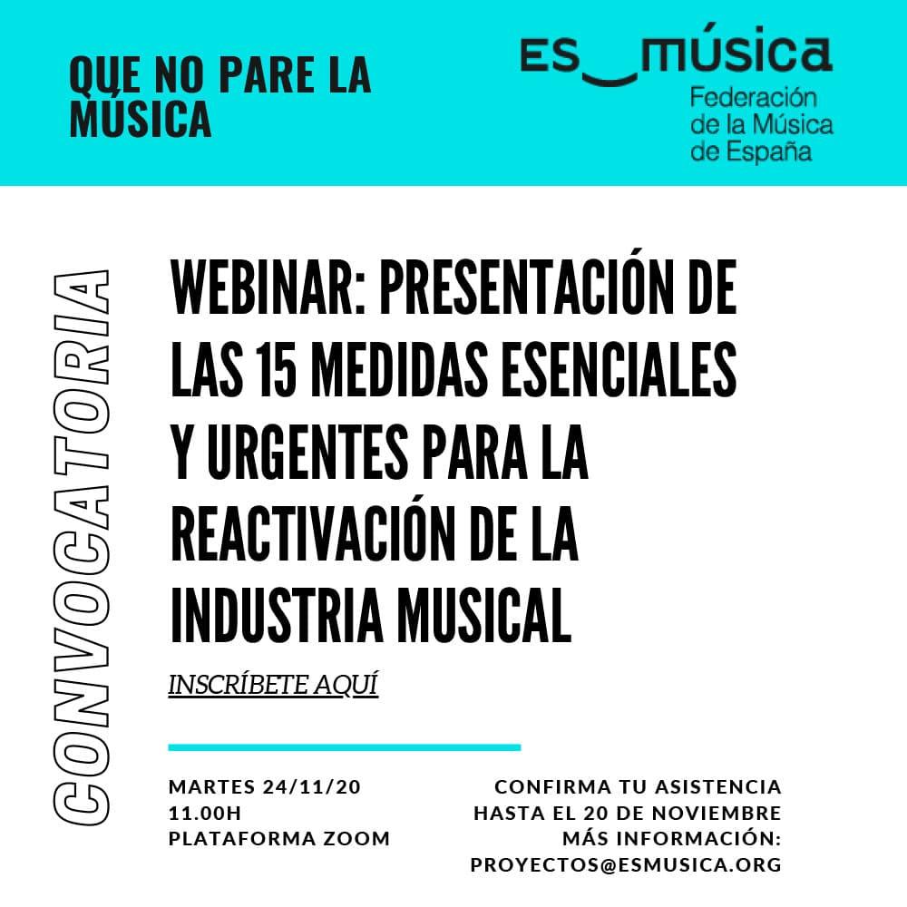 Webinar Esmusica