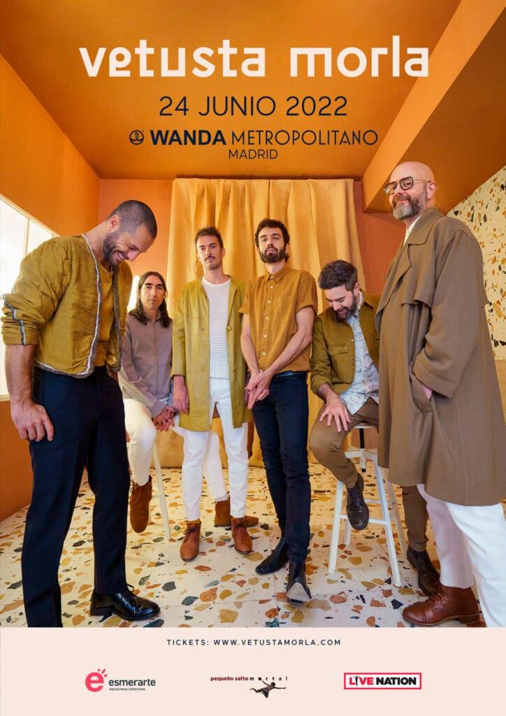 Cartel Vetusta Morla Wanda Metropolitano